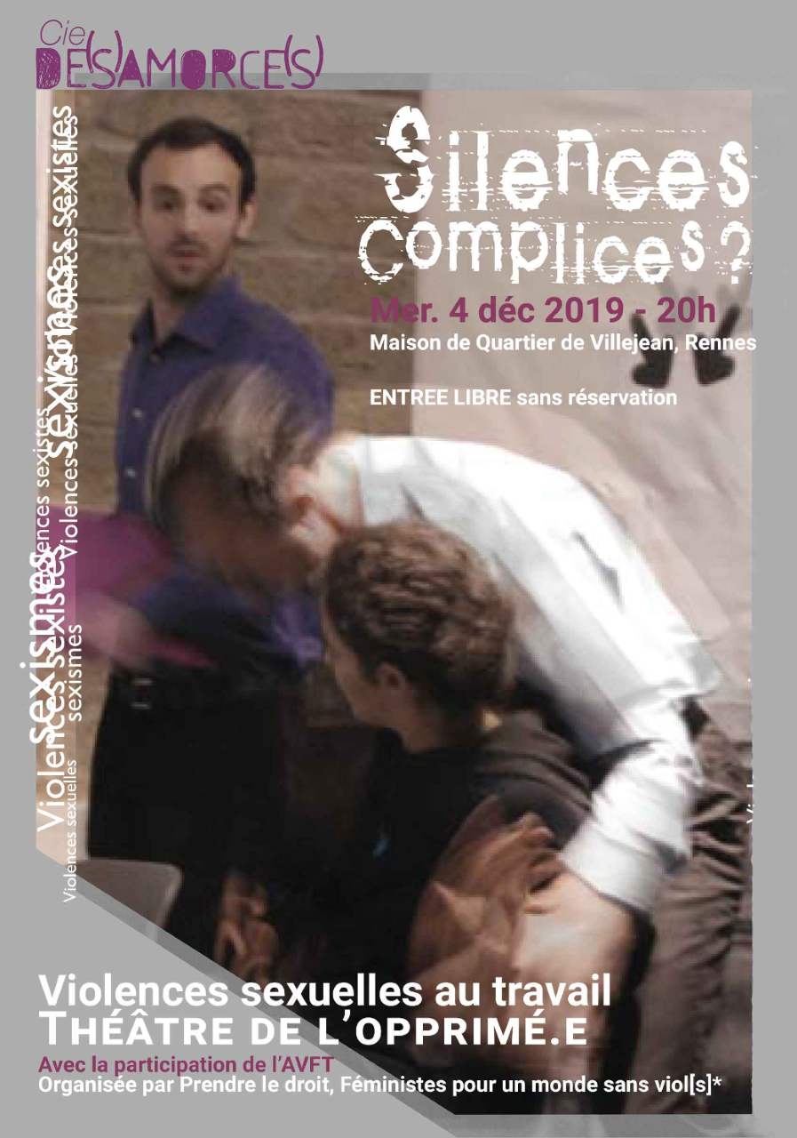 Affiche Silences complices - 4 dec 2019